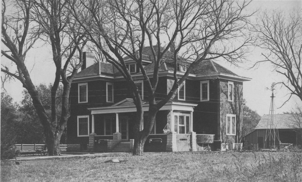 Photo of the home from the southwest