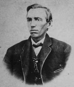 Portrait of Charles W. Rogler taken in the 1860s
