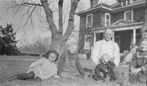 1915 Irene, Wayne, Henry, George and Helen Rogler